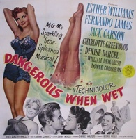 Dangerous When Wet movie poster (1953) picture MOV_63c8622f