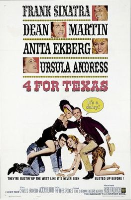 4 for Texas movie poster (1963) poster MOV_63cca1ab