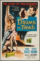 Drums of Tahiti movie poster (1954) picture MOV_63dc5912