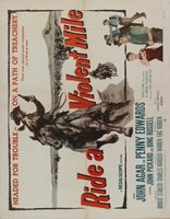 Ride a Violent Mile movie poster (1957) picture MOV_63eb7d02