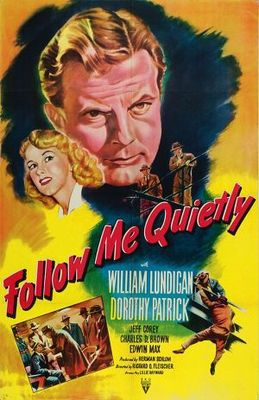Follow Me Quietly movie poster (1949) poster MOV_641b2c05