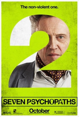 Seven Psychopaths movie poster (2012) poster MOV_641dc469
