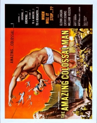 The Amazing Colossal Man movie poster (1957) poster MOV_641ffaae