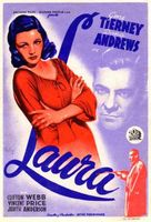 Laura movie poster (1944) picture MOV_ea82e1f1