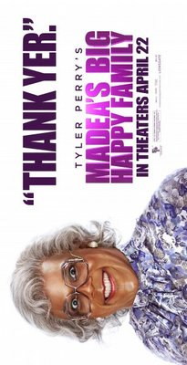 Madea's Big Happy Family movie poster (2011) poster MOV_643cd9f0