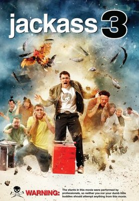Jackass 3D movie poster (2010) poster MOV_64646dff