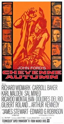 Cheyenne Autumn movie poster (1964) poster MOV_647d3b3f