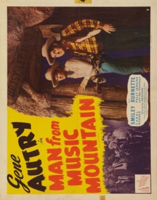 Man from Music Mountain movie poster (1938) poster MOV_6491b02b