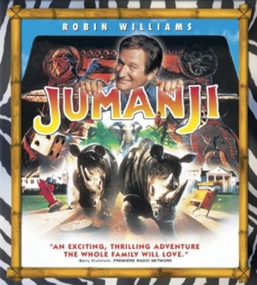 Jumanji movie poster (1995) poster MOV_64b9974d