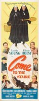 Come to the Stable movie poster (1949) picture MOV_64da1ef0