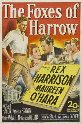 The Foxes of Harrow movie poster (1947) poster MOV_64e5fc60