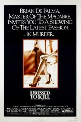 Dressed to Kill movie poster (1980) poster MOV_64e903fc