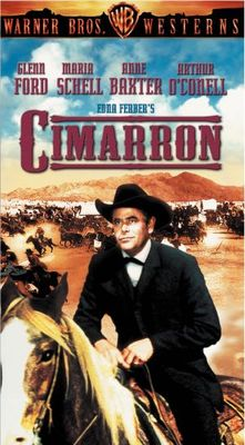 Cimarron movie poster (1960) poster MOV_651ac7ba