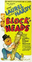Block-Heads movie poster (1938) picture MOV_652a106c