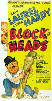 Block-Heads movie poster (1938) poster MOV_652a106c