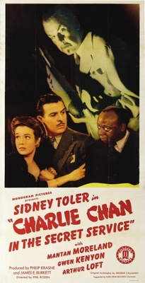 Charlie Chan in the Secret Service movie poster (1944) poster MOV_6546838c