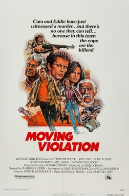 Moving Violation movie poster (1976) poster MOV_654e5311