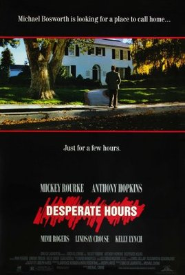 Desperate Hours movie poster (1990) poster MOV_65539c5f