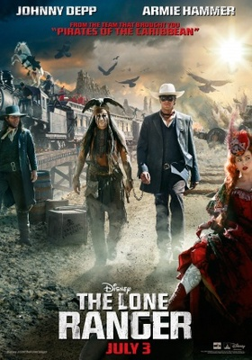 The Lone Ranger movie poster (2013) poster MOV_655a516c
