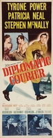 Diplomatic Courier movie poster (1952) picture MOV_65649805