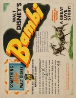 Bambi movie poster (1942) picture MOV_52750a33