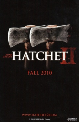 Hatchet 2 movie poster (2009) poster MOV_659b32b3