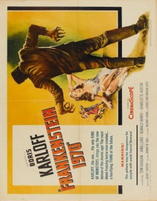 Frankenstein - 1970 movie poster (1958) poster MOV_65baa8af