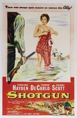 Shotgun movie poster (1955) poster MOV_65d400af