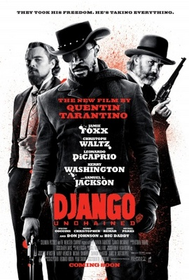 Django Unchained movie poster (2012) poster MOV_65dc1105