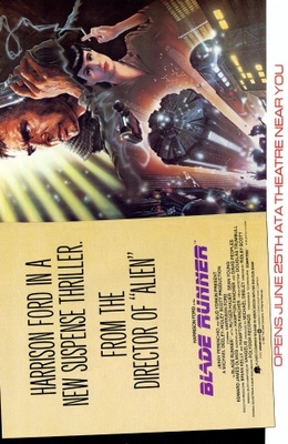 Blade Runner movie poster (1982) poster MOV_65de486f