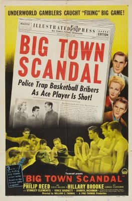 Big Town Scandal movie poster (1948) poster MOV_65e37cc7