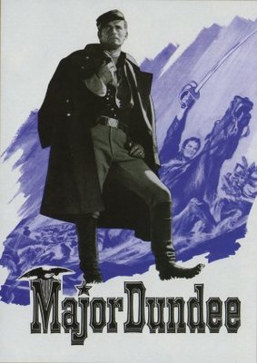 Major Dundee movie poster (1965) poster MOV_6600df65
