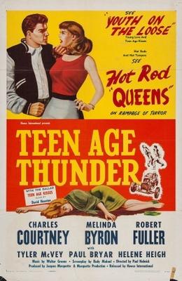 Teenage Thunder movie poster (1957) poster MOV_66147bd5