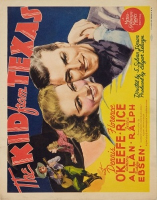 The Kid from Texas movie poster (1939) poster MOV_66205052