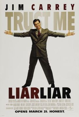Liar Liar movie poster (1997) poster MOV_6641ffed
