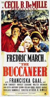 The Buccaneer movie poster (1938) poster MOV_6646c9d7