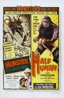 Monster from Green Hell movie poster (1958) poster MOV_66489c0f