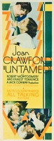 Untamed movie poster (1929) picture MOV_66527bfc