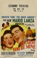 Because You're Mine movie poster (1952) picture MOV_666bbde3