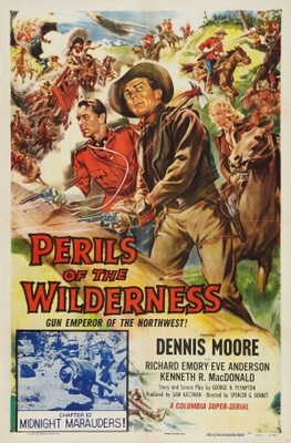 Perils of the Wilderness movie poster (1956) poster MOV_66818eb0