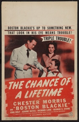 The Chance of a Lifetime movie poster (1943) poster MOV_66904d89
