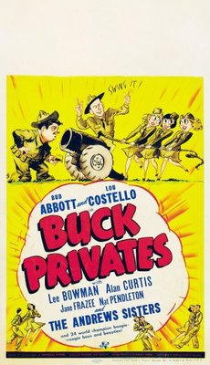 Buck Privates movie poster (1941) poster MOV_66d4ad9e