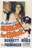 Margin for Error movie poster (1943) picture MOV_66f21ba5