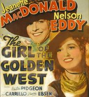The Girl of the Golden West movie poster (1938) picture MOV_6702a483