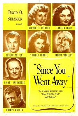Since You Went Away movie poster (1944) poster MOV_67115290