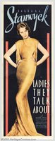 Ladies They Talk About movie poster (1933) picture MOV_67250f74