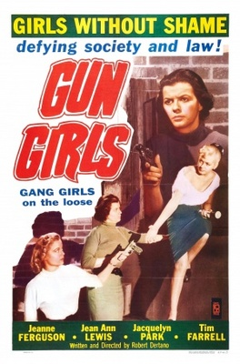 Gun Girls movie poster (1957) poster MOV_67296d0d