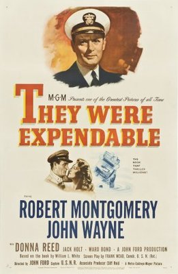 They Were Expendable movie poster (1945) poster MOV_673d30eb