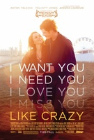Like Crazy movie poster (2011) picture MOV_bd850686