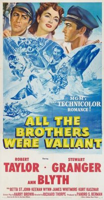All the Brothers Were Valiant movie poster (1953) poster MOV_6771632d